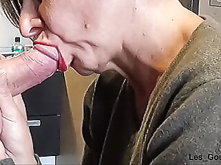 amateur blowjob close-up at YES PORN PLEASE