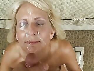 amateur cumshot facial at YES PORN PLEASE