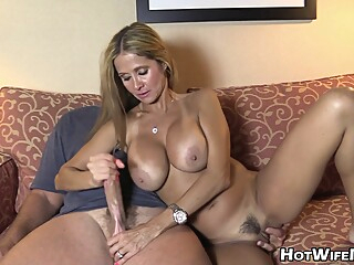 big tits blonde cumshot at YES PORN PLEASE