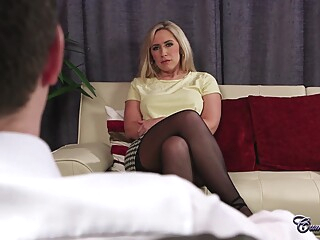 big tits blonde casting at YES PORN PLEASE